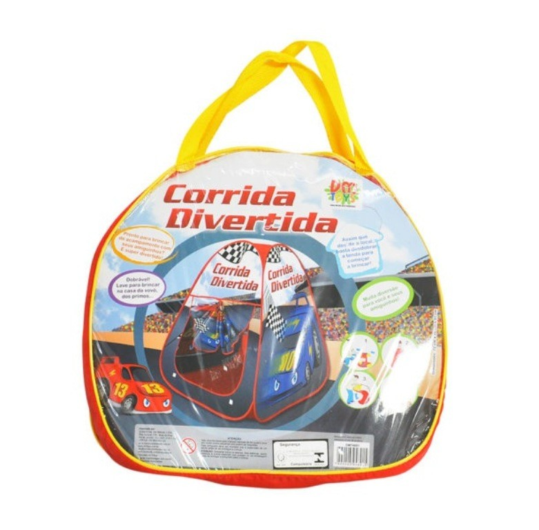 Barraca Infantil Corrida Divertida - Dm Toys
