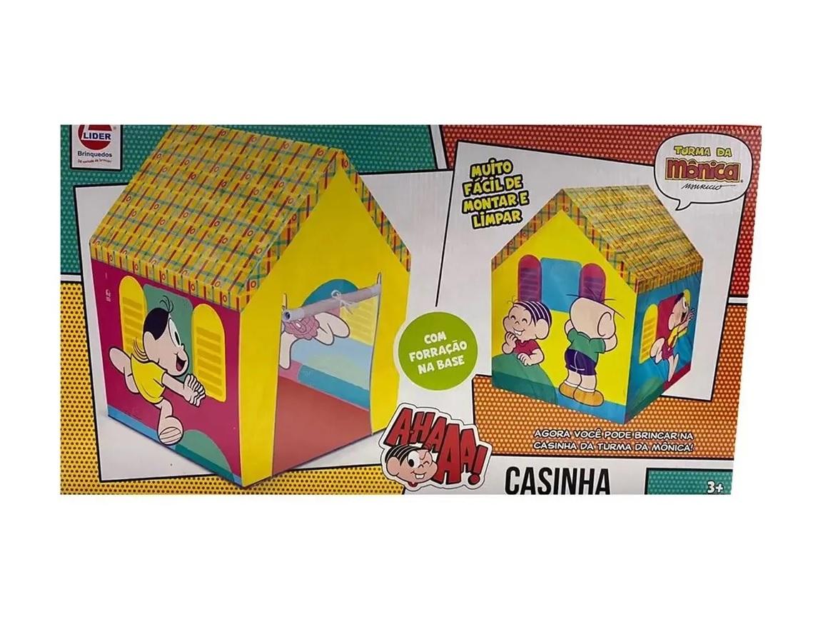 Barraca Infantil Casinha Turma da Mônica - Lider Brinquedos