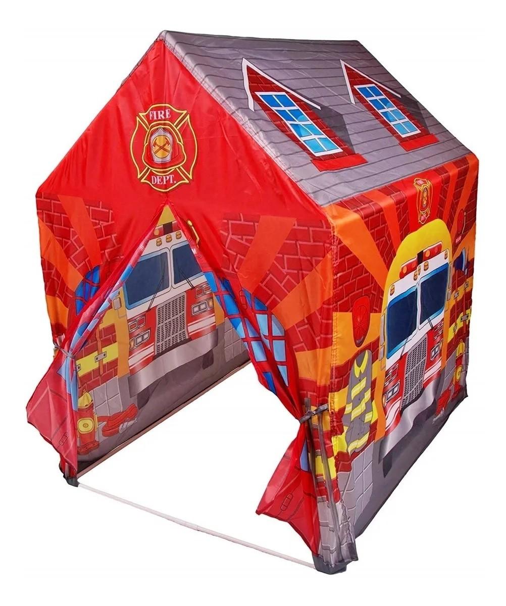 Barraca Infantil Estação Bombeiro - Dm Toys