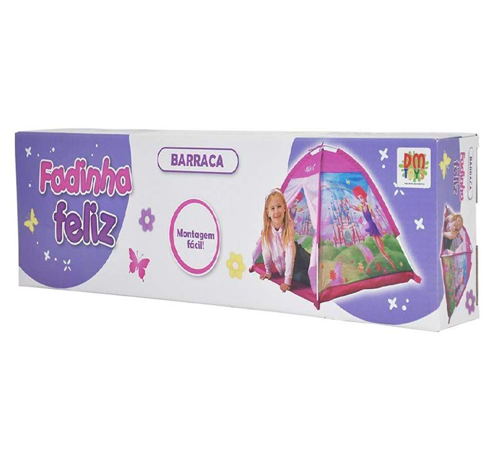 Barraca Infantil Fadinha Feliz - Dm Toys