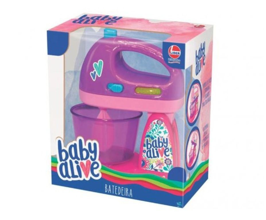 Batedeira Baby Alive - Lider Brinquedos