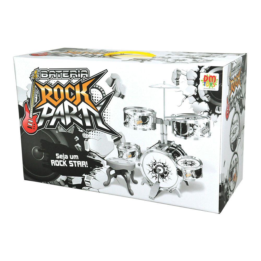 Bateria Rock Party Grande - Dm Toys