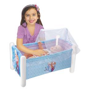 Berço para Boneca Frozen - Lider Brinquedos
