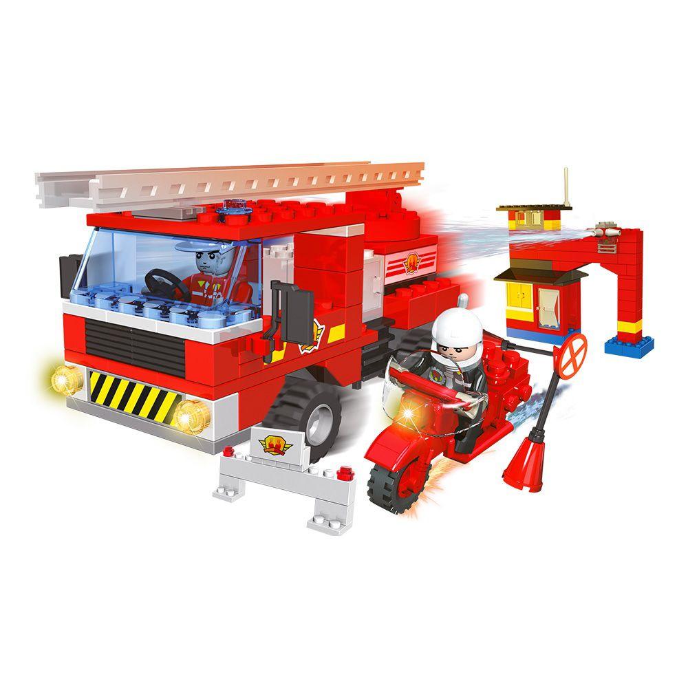 Blocos de Montar Operação Resgate 249 Peças - Dm Toys