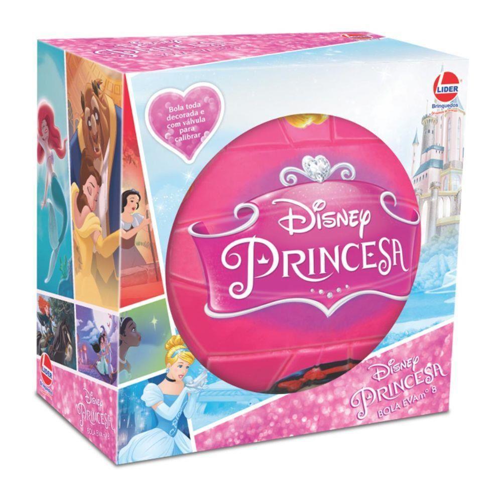 Bola EVA Nº8 Disney Princesa - Lider Brinquedos