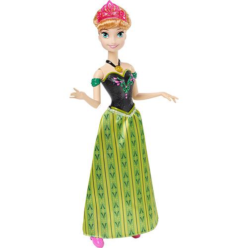 Boneca Princesa Anna Musical Frozen Disney - Mattel