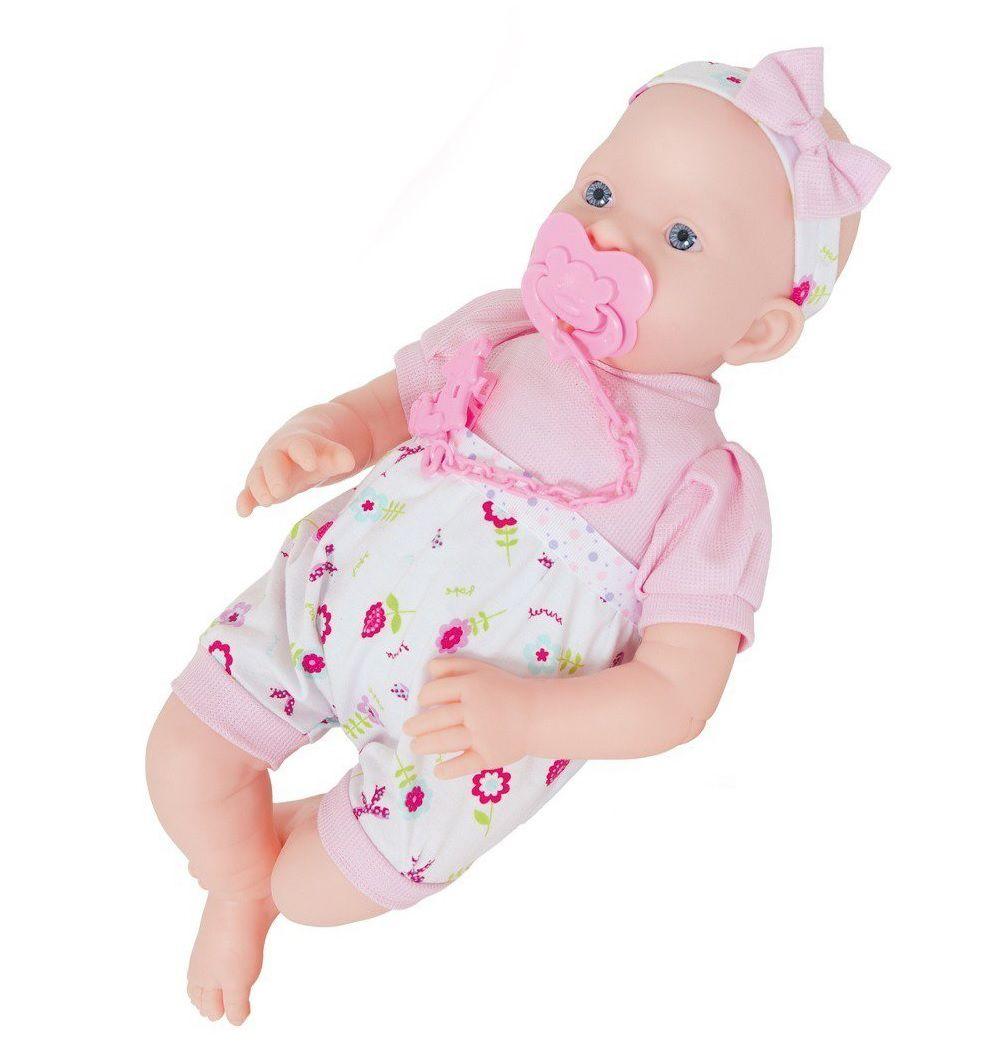 Boneca Antonella Newborn - Super Toys
