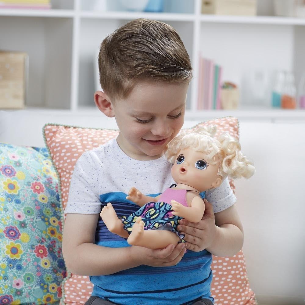 c4d53975d Boneca Baby Alive Adoro Macarrão Loira - Hasbro - Loja Brinquedos ...