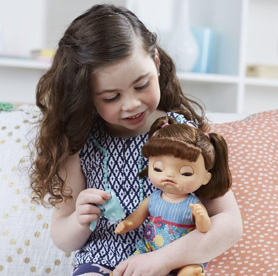 f20628ee13 ... Boneca Baby Alive Bebê Doces Lágrimas Morena - Hasbro - Descalshop ...