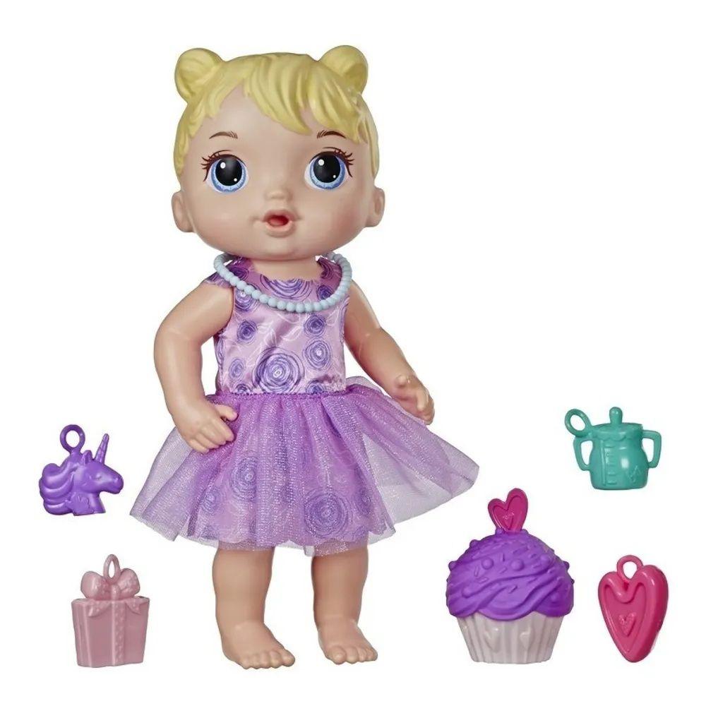 Boneca Baby Alive Bebê Festa de Presentes Loira - Hasbro