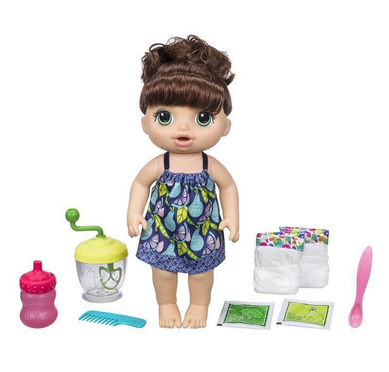 Boneca Baby Alive Papinha Divertida Morena - Hasbro