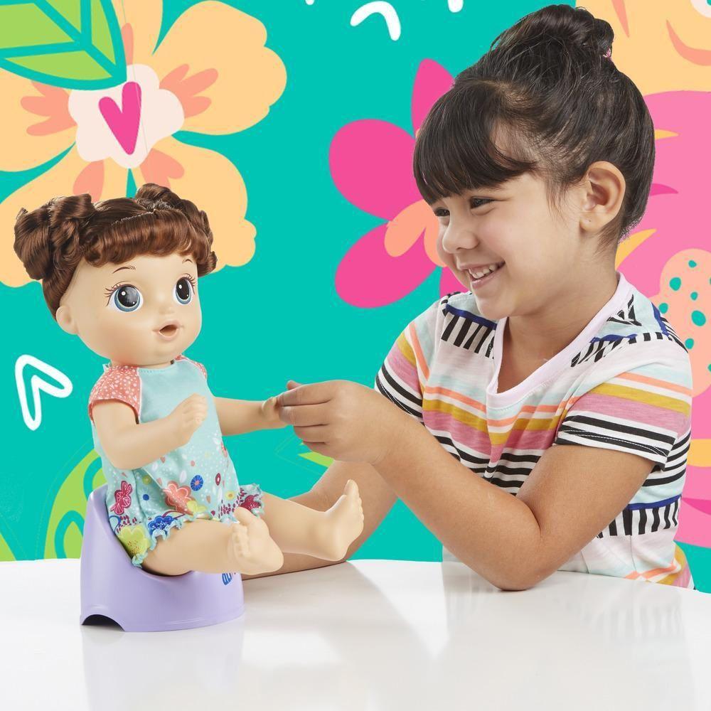 Boneca Baby Alive Primeiro Peniquinho Morena - Hasbro