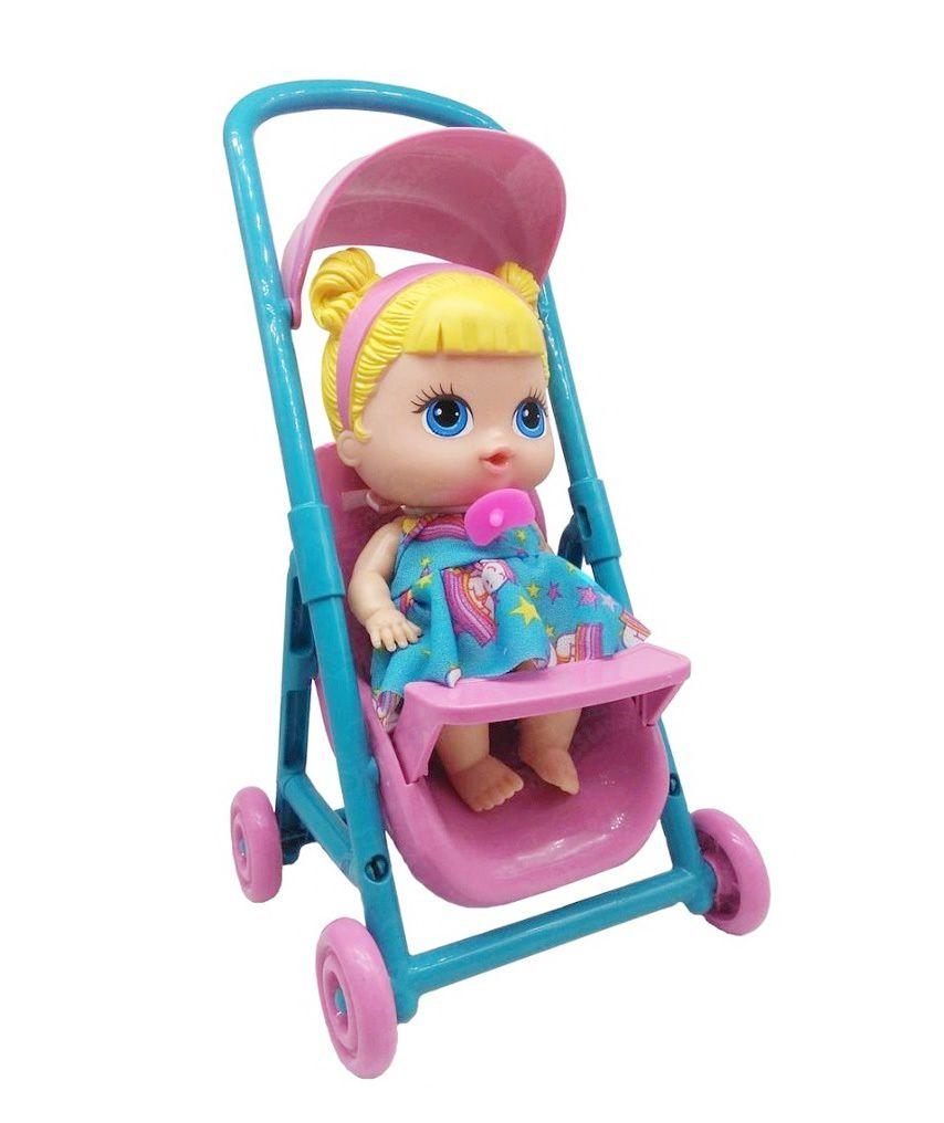 Boneca Baby's Collection Mini Carrinho - Super Toys