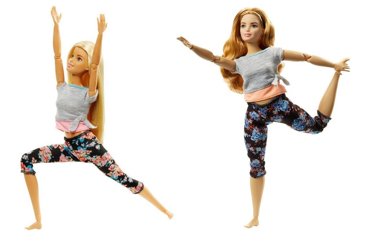Boneca Barbie Articulada Feita para Mexer Aula de Yoga - Mattel