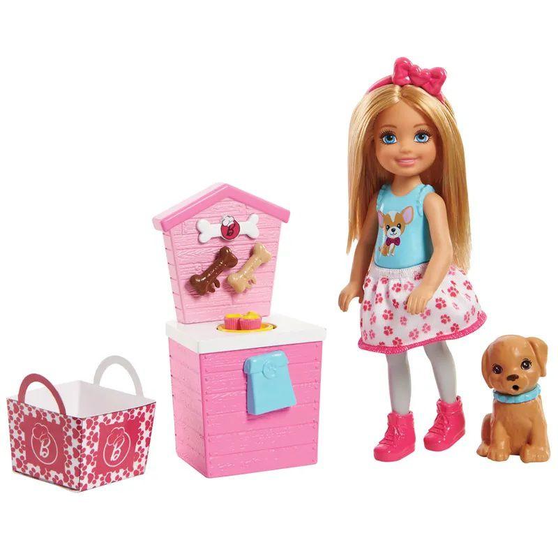 Boneca Barbie Barraca de Lanches da Chelsea - Mattel