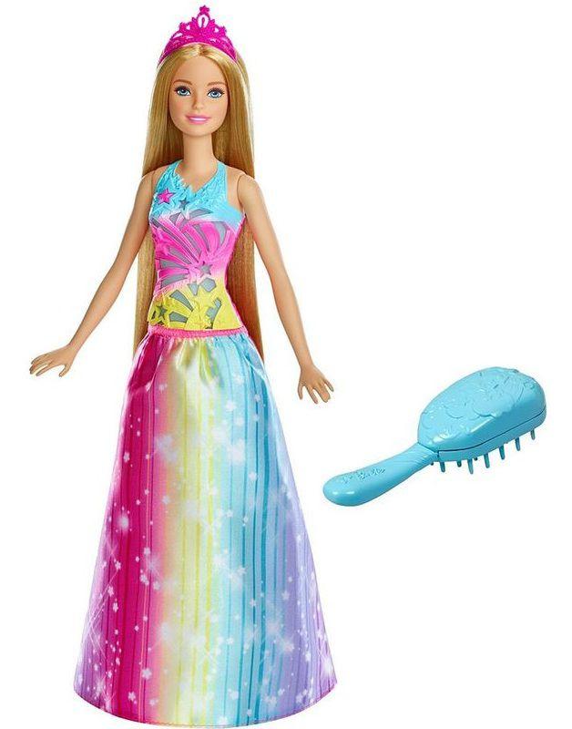 Boneca Barbie Cabelos Mágicos com Luz e Som - Mattel