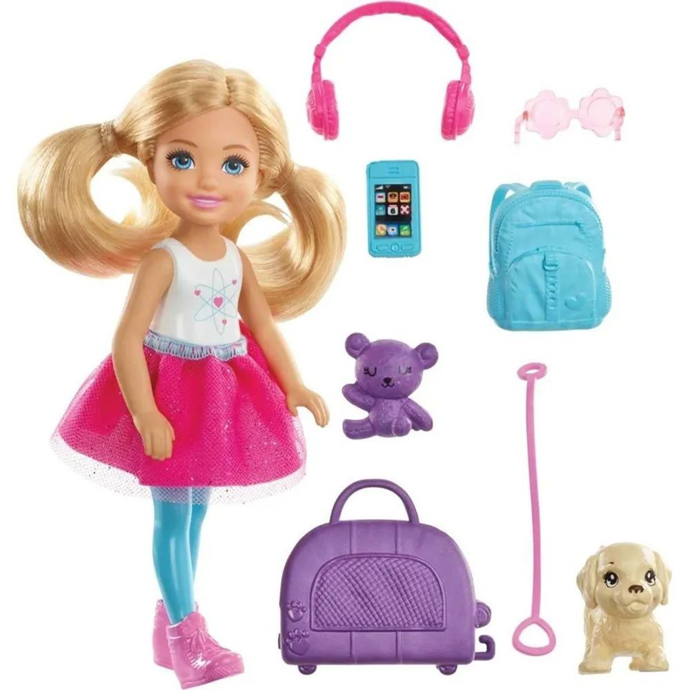 Boneca Barbie Chelsea Explorar e Descobrir - Mattel