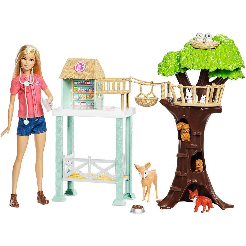 Boneca Barbie Cuidadora de Bichinhos - Mattel