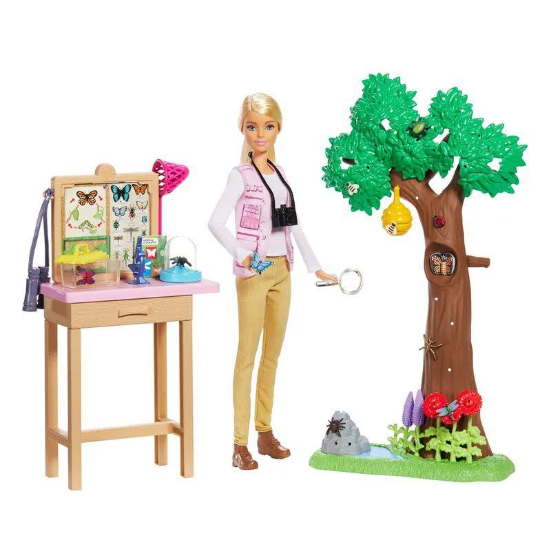 Boneca Barbie National Geographic Cuidadora de Borboleta - Mattel