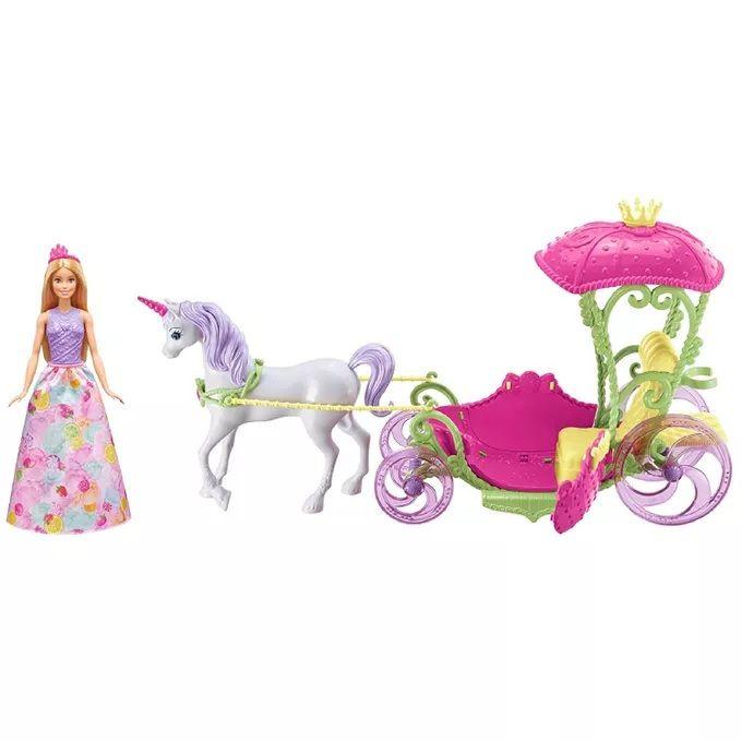 Boneca Barbie Dreamtopia Carruagem - Mattel