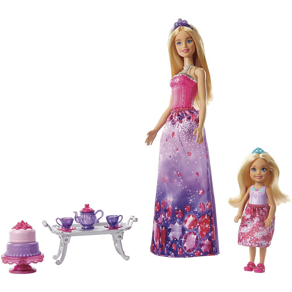 Boneca Barbie Dreamtopia Chelsea Hora do Chá - Mattel