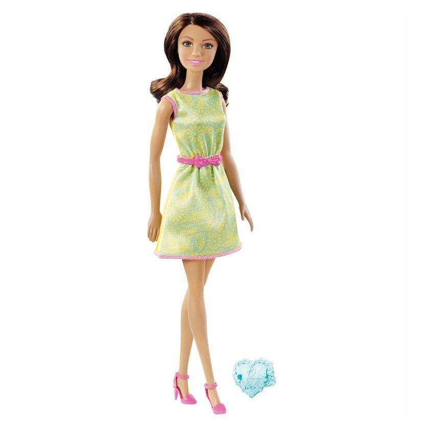 Boneca Barbie Fashion And Beauty com Anel - Mattel