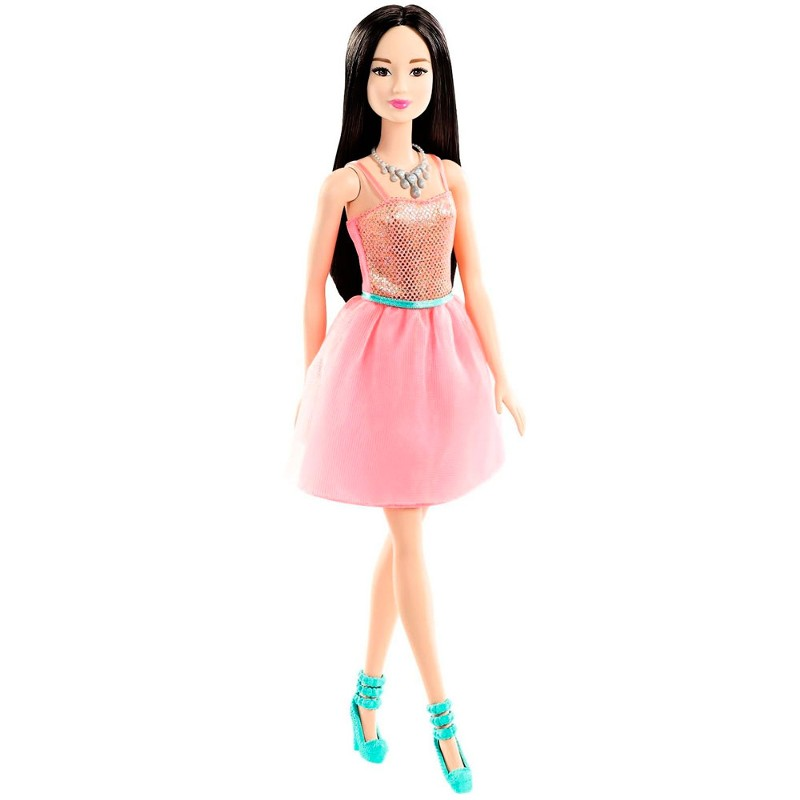 Boneca Barbie Fashion And Beauty Glitter - Loira/ Morena - Mattel