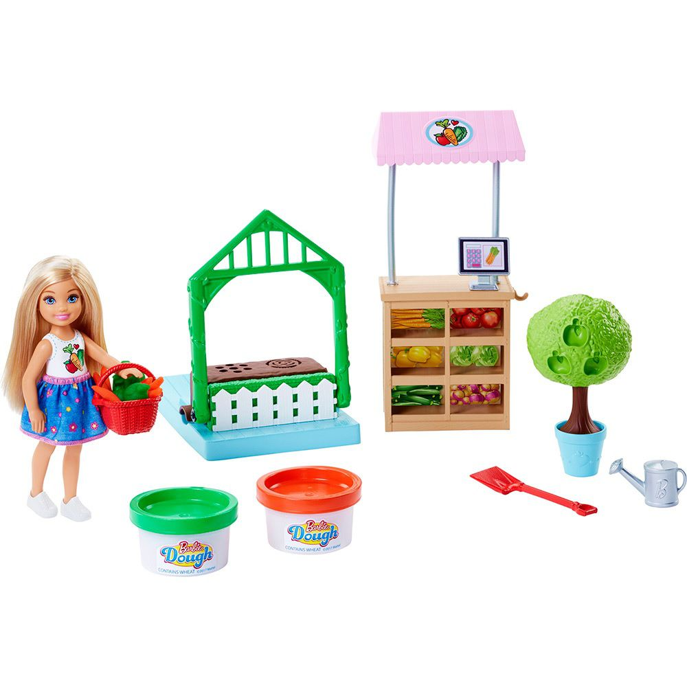 Boneca Barbie Horta da Chelsea - Mattel