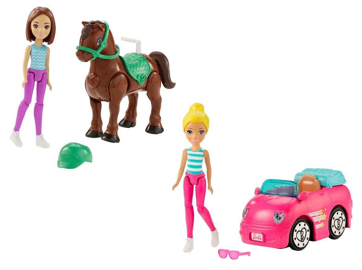 Boneca Barbie On The Go Motorizado - Mattel