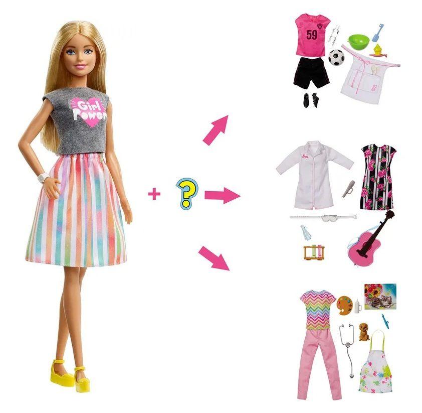 Boneca Barbie Profissões Profissão Surpresa - Mattel