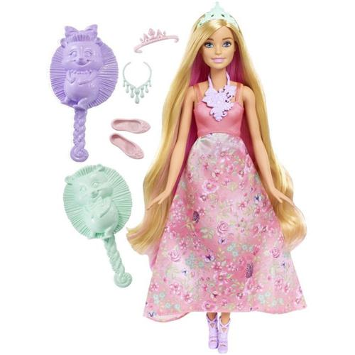Boneca Barbie Reinos Mágicos Princesa Cabelos Coloridos - Mattel
