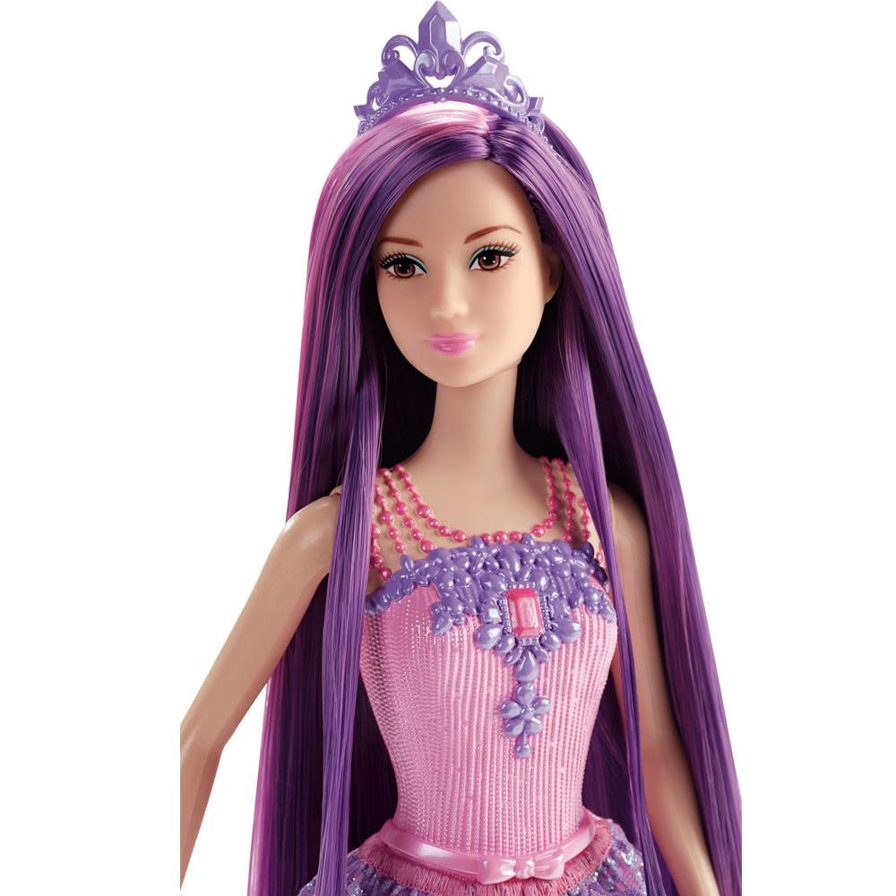 Boneca Barbie Reinos Mágicos Princesa Penteados Mágicos - Mattel
