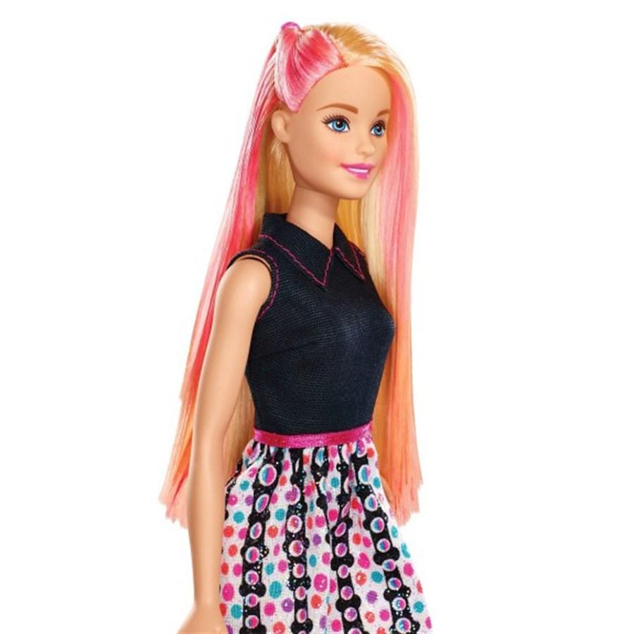 Boneca Barbie Salão de Cores 36 Peças - Mattel