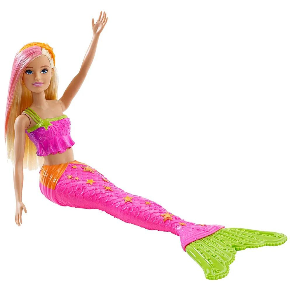Boneca Barbie Sereia Explorar e Descobrir Loira - Mattel