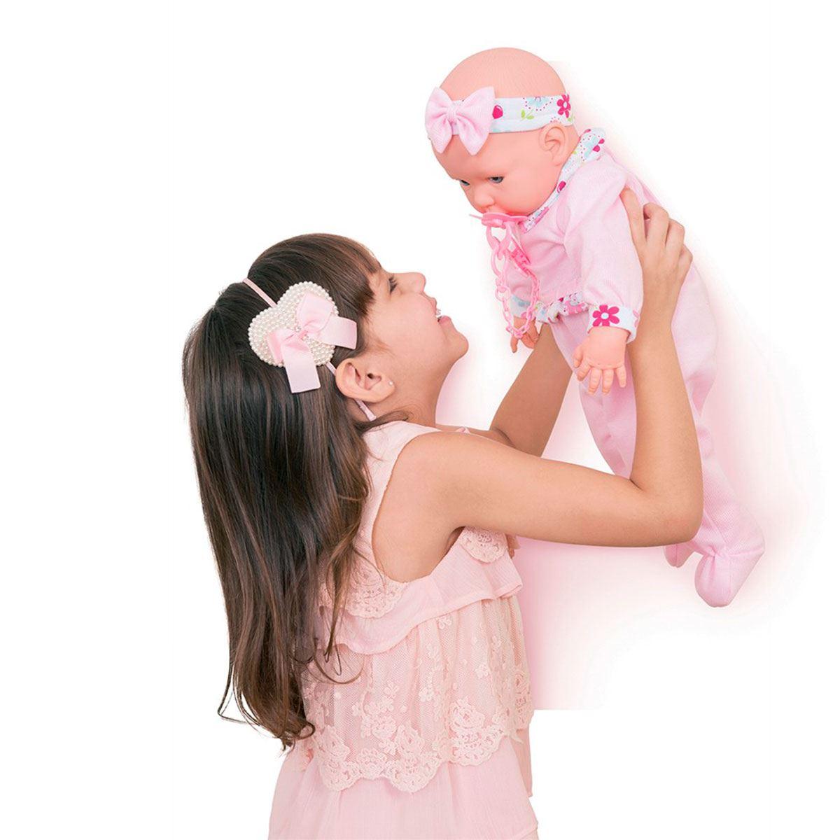 Boneca Bebê com Amor - Super Toys