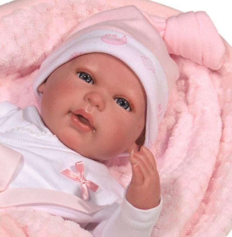 Boneca Bebê Reborn - Baby Brink