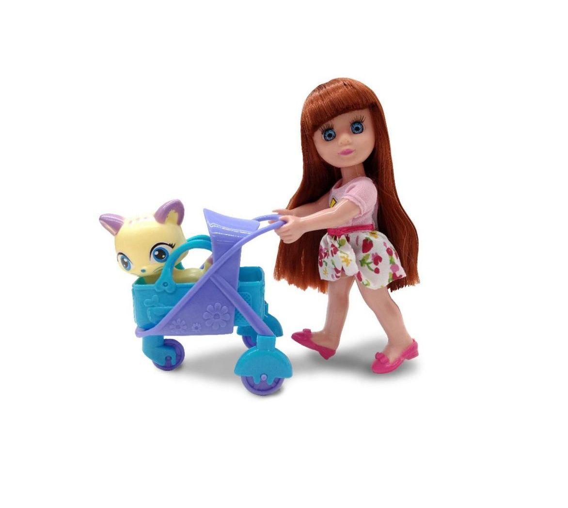Boneca Candy Pet Park com Acessórios - Zoop Toys