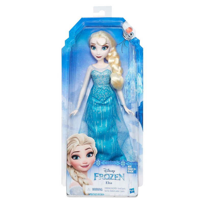 Boneca Clássica Disney Frozen Princesa Elsa - Hasbro
