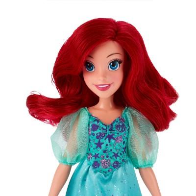 Boneca Clássica Princesas Disney Ariel Vestido Brilhante - Hasbro