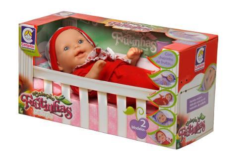 Boneca Coleção Frutinhas Babys Cereja - Cotiplás