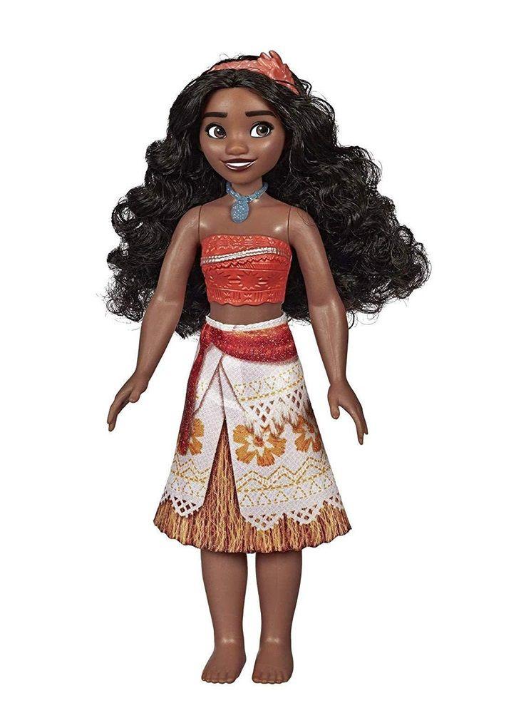Boneca Disney Princesas Brilho Real Moana Clássica - Hasbro