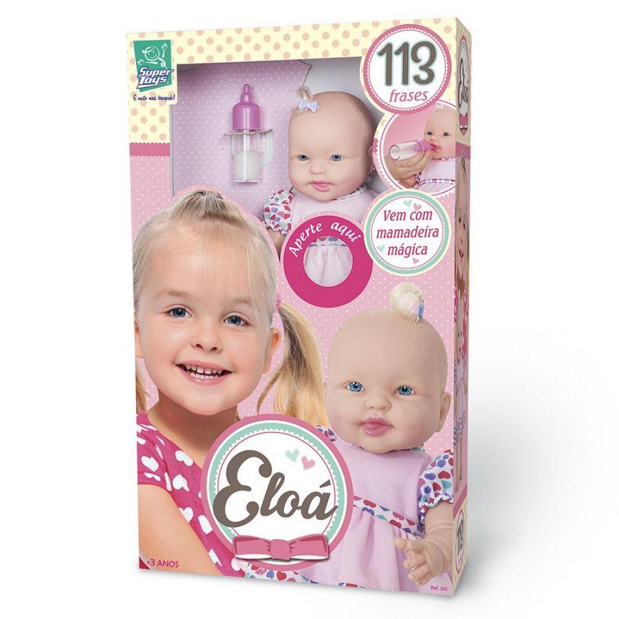Boneca Eloá 113 Frases - Super toys