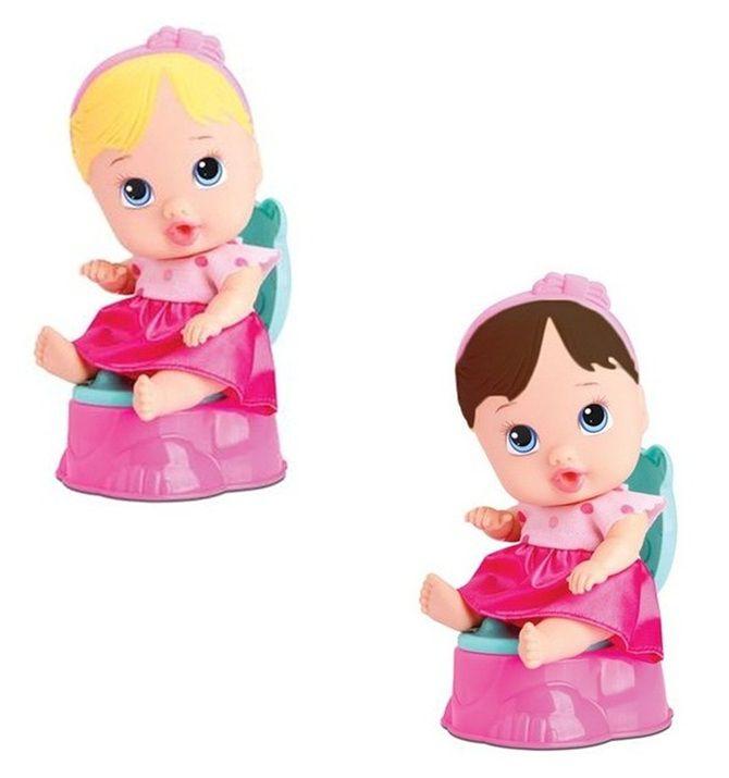 Boneca Little Dolls Faz Xixi - Diver Toys