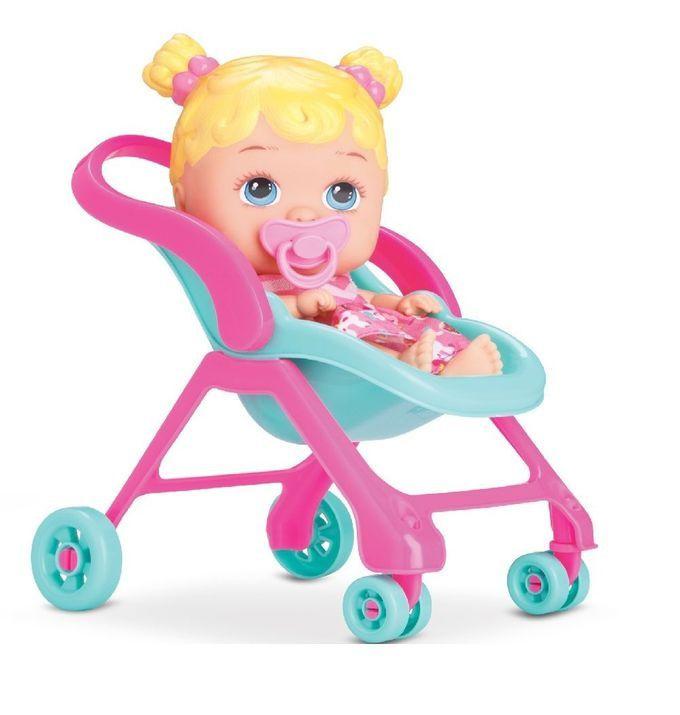 Boneca Little Dolls Passeio - Diver Toys