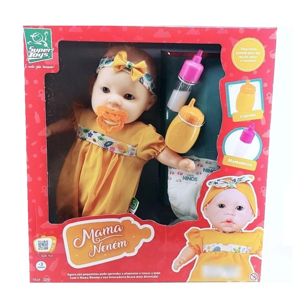 Boneca Mama Neném - Super Toys