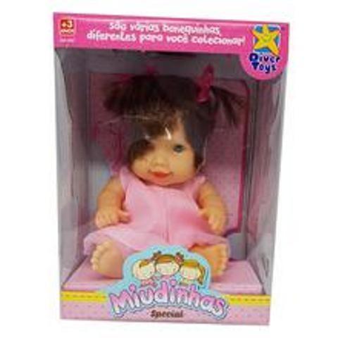 Boneca Miudinhas Especial - Diver Toys