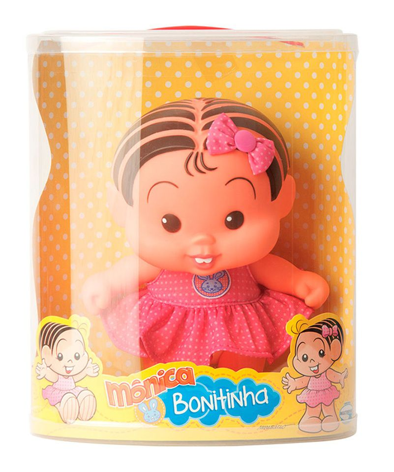 Boneca Mônica Bonitinha - Multibrink