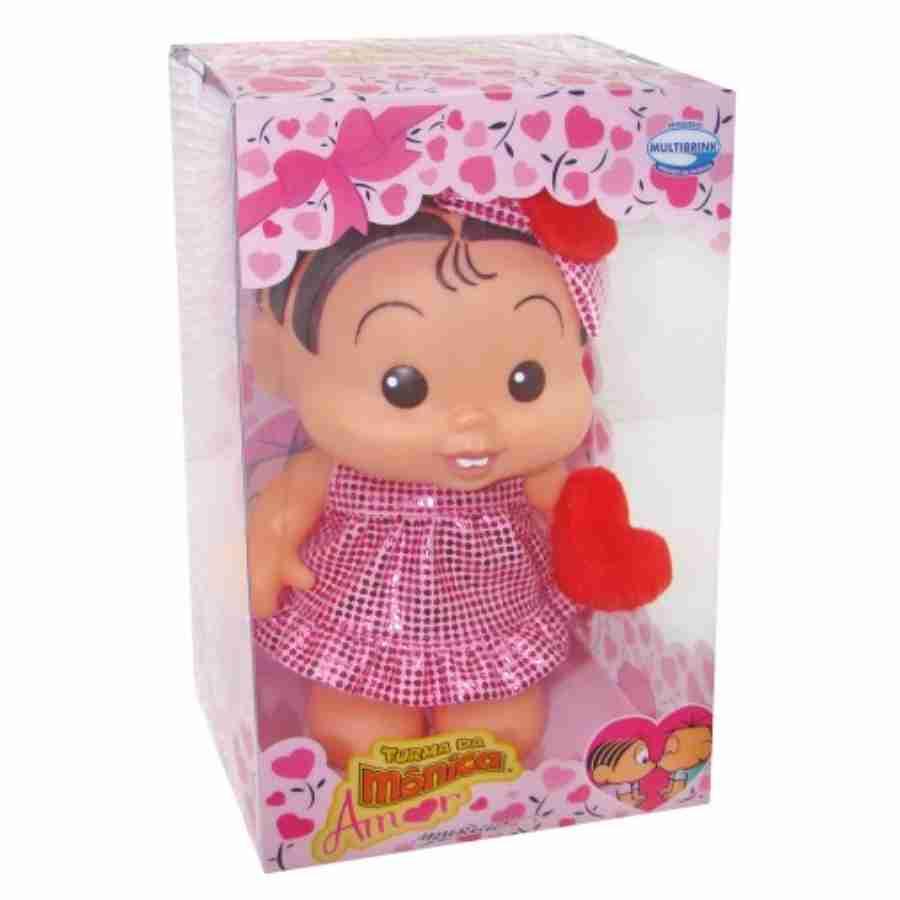 Boneca Mônica Bonitinha Namorados - Multibrink