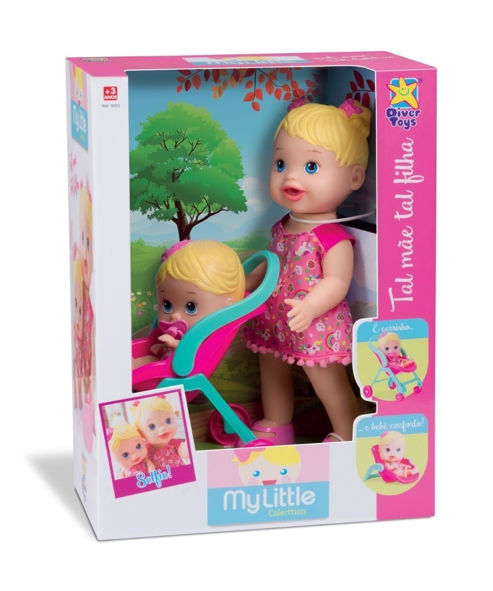 Boneca My Little Collection Tal Mãe Tal Filha - Diver Toys