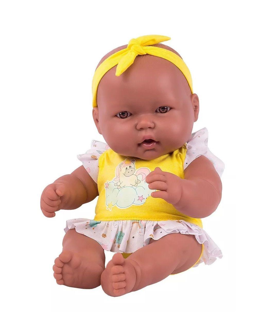 Boneca Neneca Negra - Super Toys